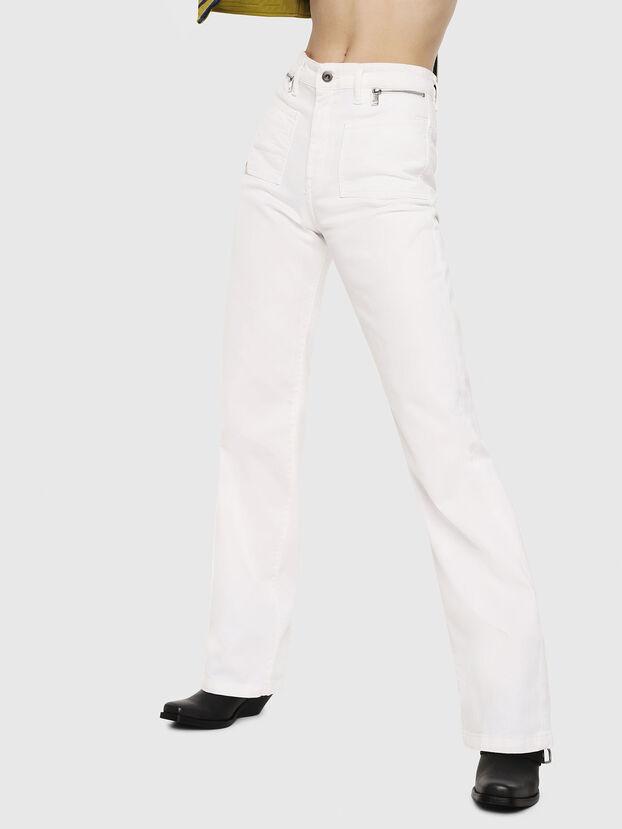 D-Pending 069EA, Blanc - Jeans