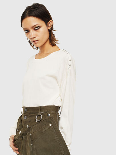 Diesel - M-PERLA-A, Blanc - Pull Maille - Image 6