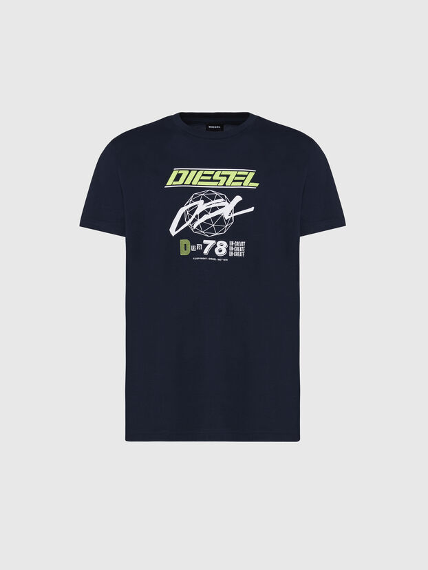 T-DIEGOS-K34, Bleu Foncé - T-Shirts