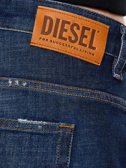 Diesel - Fayza 0F9ET, Bleu Foncé - Jeans - Image 4