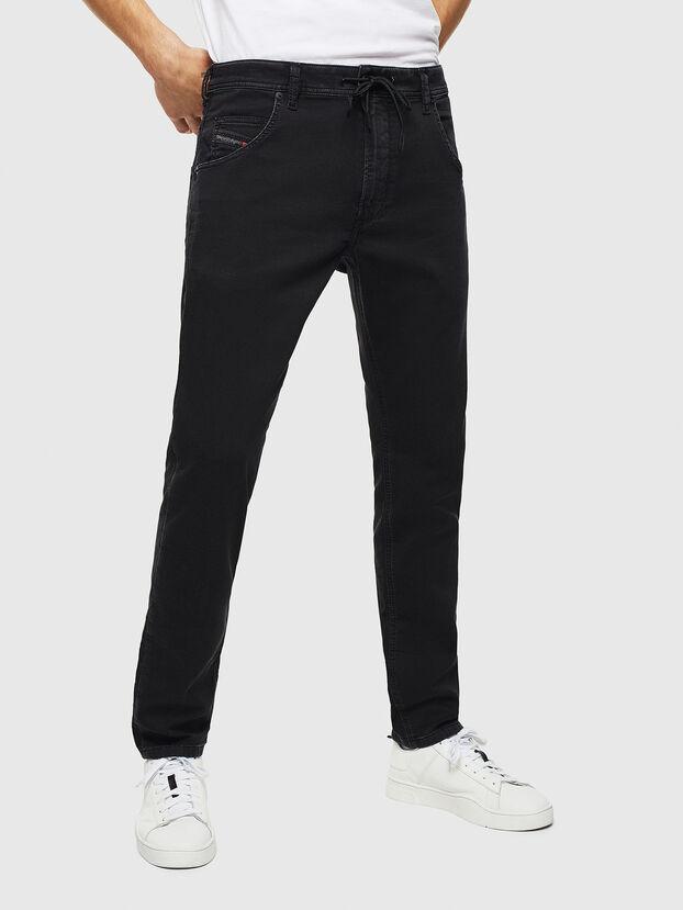 Krooley JoggJeans 0687Z, Noir/Gris foncé - Jeans
