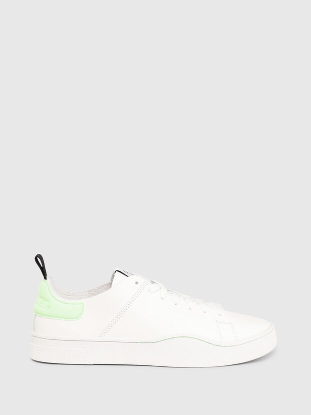 S-CLEVER LS W, White/Green - Sneakers