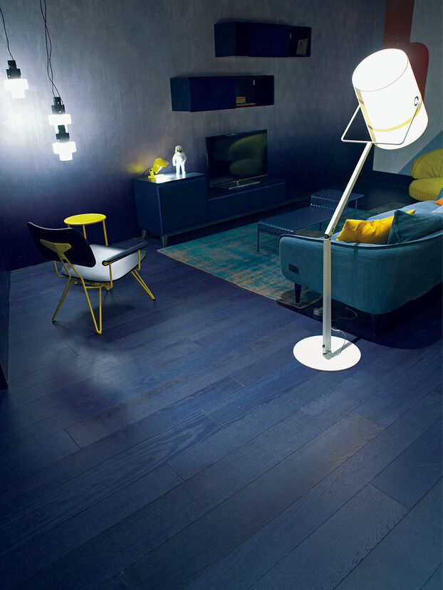 TRUE INDIGO,  - Flooring