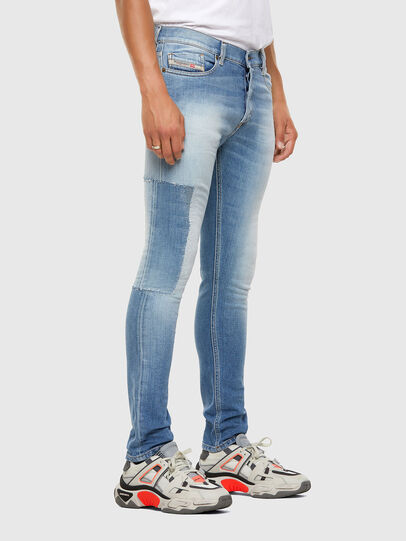 Diesel - Tepphar 009FJ, Bleu Clair - Jeans - Image 7