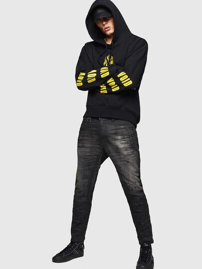 Diesel - D-Earby JoggJeans 069GN, Black/Dark Grey - Jeans - Image 5