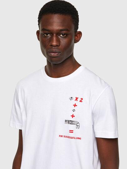 Diesel - T-DIEGOS-B4, Blanc - T-Shirts - Image 3