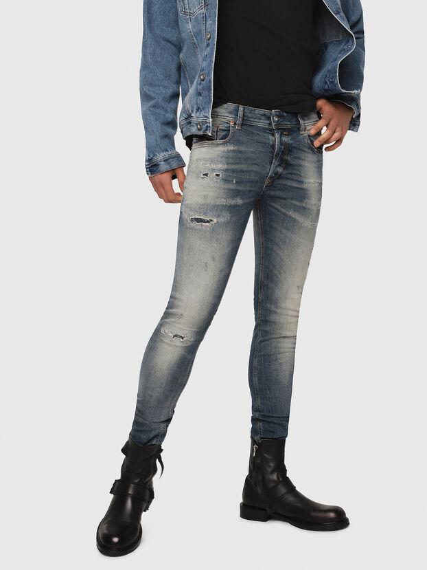 Sleenker 069DK, Bleu moyen - Jeans