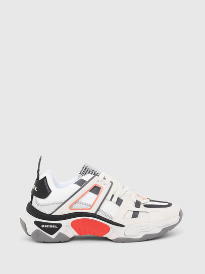 Diesel - S-KIPPER LOW TREK II, White - Sneakers - Image 1