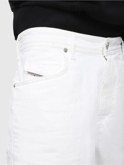 Diesel - D-WILLOH, Blanc - Shorts - Image 3