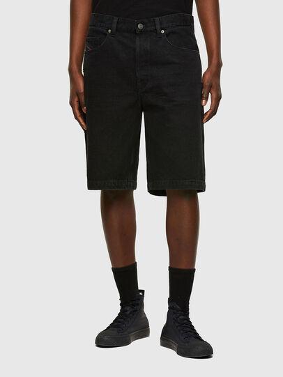 Diesel - D-MACS-SHORT, Noir - Shorts - Image 1