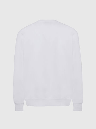 Diesel - S-GIRK-CUTY, Blanc - Pull Cotton - Image 2