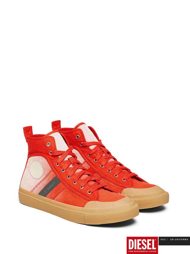 GR02 SH32, Rouge/Blanc - Baskets