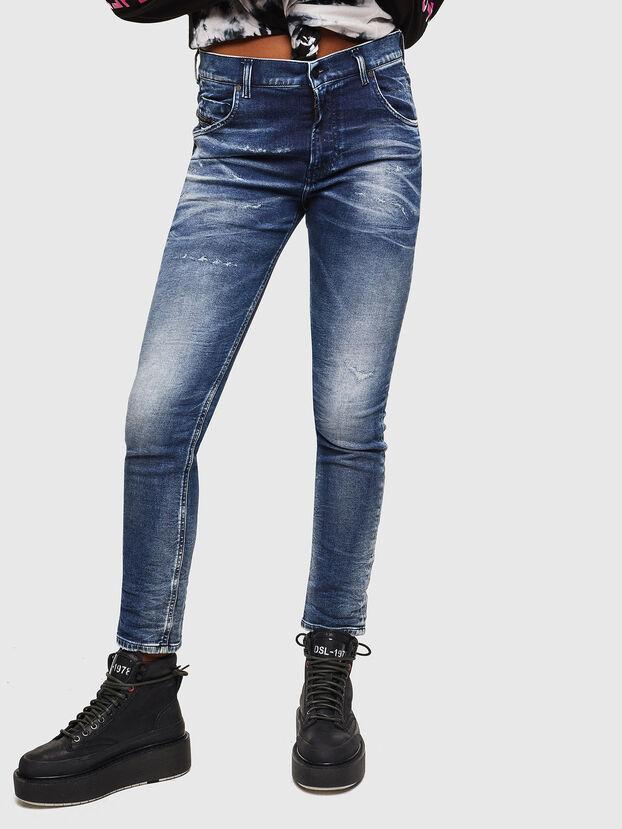 Krailey JoggJeans 0096M, Bleu Foncé - Jeans