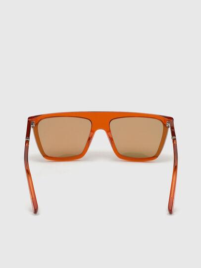 Diesel - DL0323, Orange - Lunettes de soleil - Image 4