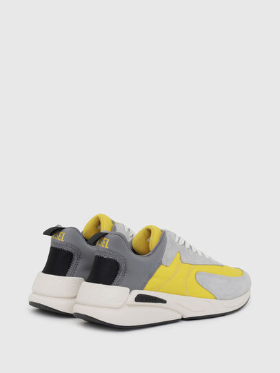 Diesel - S-SERENDIPITY LOW CU, Grey/Yellow - Sneakers - Image 3