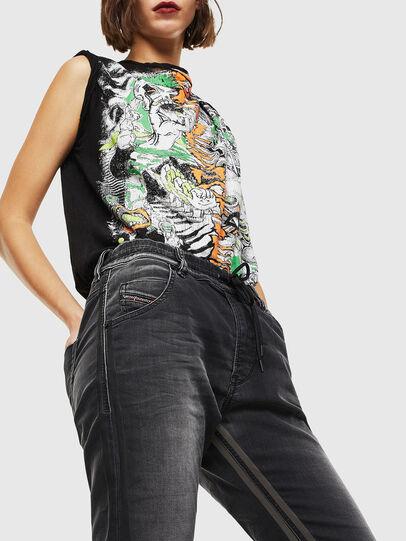 Diesel - Krailey JoggJeans 0094Q, Noir/Gris foncé - Jeans - Image 4