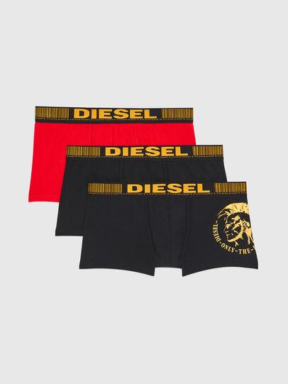 Diesel - UMBX-DAMIENTHREEPACK, Noir/Doré - Boxeurs courts - Image 1