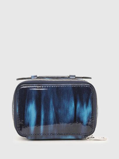 Diesel - BOMBY II, Blue - Small Wallets - Image 1