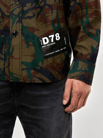 Diesel - S-JESSY-DES, Vert Militaire - Chemises - Image 4