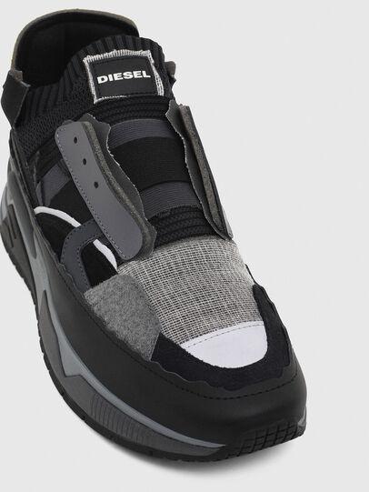 Diesel - S-BRENTHA DEC, Noir/Gris - Baskets - Image 6