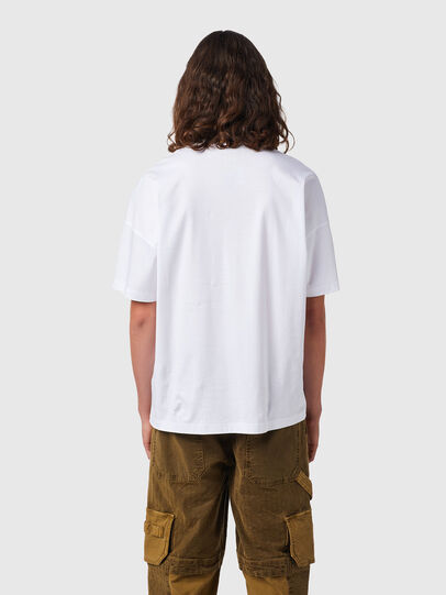 Diesel - T-KRIBBY, White - T-Shirts - Image 2
