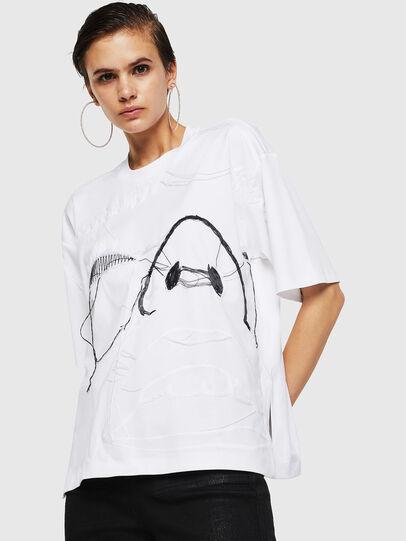 Diesel - TELIX, Blanc - T-Shirts - Image 1