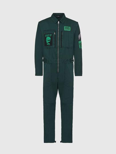 Diesel - P-LARRY, Vert Foncé - Pantalons - Image 1