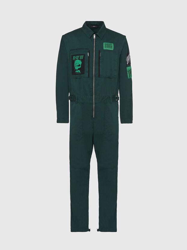 P-LARRY, Vert Foncé - Pantalons