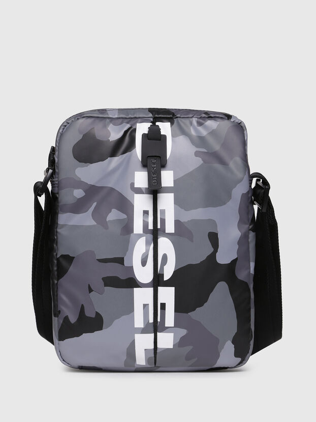 F-BOLD SMALL CROSS, Grey - Crossbody Bags