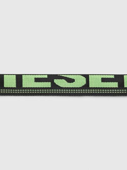 Diesel - B-MASER, Black/Green - Belts - Image 4