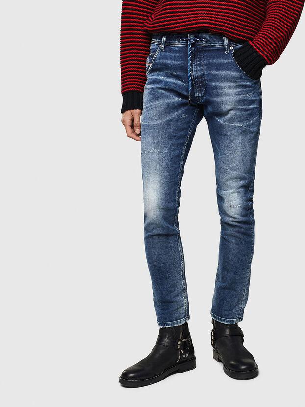 Krooley JoggJeans 0096M, Bleu Foncé - Jeans