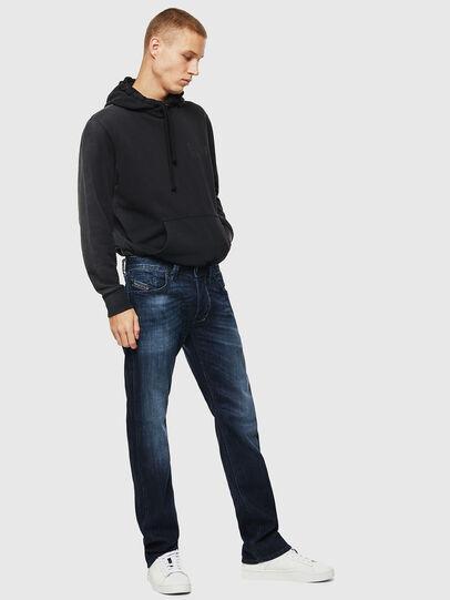 Diesel - Larkee 0095W, Dark Blue - Jeans - Image 6