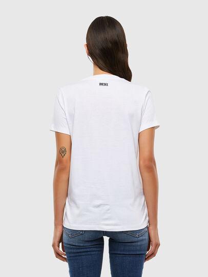 Diesel - T-SILY-V21, Blanc - T-Shirts - Image 2