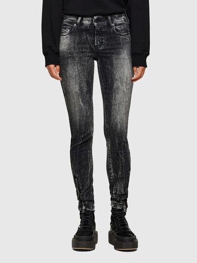 Diesel - D-Jevel 009PX, Noir/Gris foncé - Jeans - Image 1