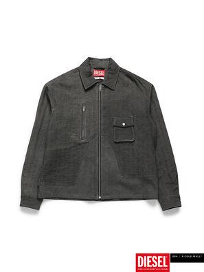 ACW-SH02, Noir - Chemises en Denim