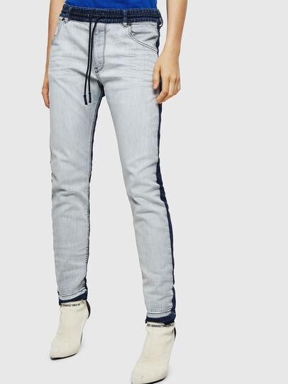 Diesel - Krailey JoggJeans 0870R, Bleu moyen - Jeans - Image 1