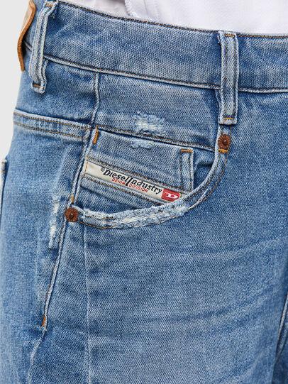 Diesel - Fayza 009EU, Bleu Clair - Jeans - Image 4