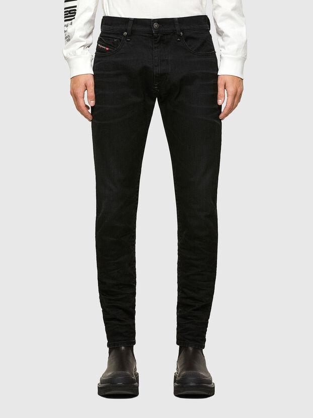 D-Strukt 0091I, Black/Dark Grey - Jeans