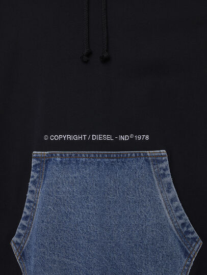 Diesel - S-THOS, Noir - Pull Cotton - Image 4