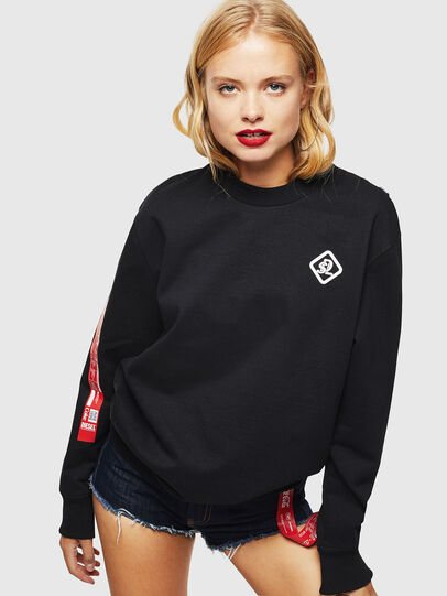 Diesel - CC-S-BAY-COLA, Noir - Pull Cotton - Image 2