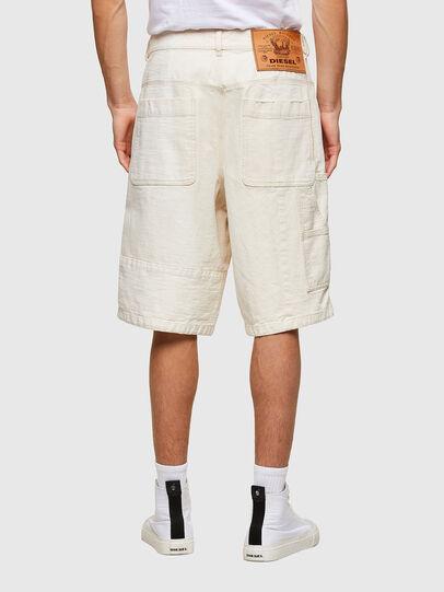 Diesel - D-FRANS-SP1, Blanc - Shorts - Image 2