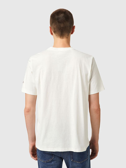 Diesel - T-JUST-B67, White - T-Shirts - Image 2