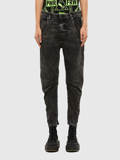 Diesel - FAYZA JoggJeans® 009FZ, Noir/Gris foncé - Jeans - Image 1