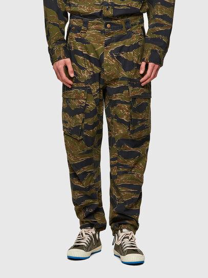 Diesel - P-BARTON, Vert Militaire - Pantalons - Image 1