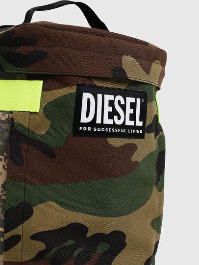 Diesel - PIEVE, Vert Camouflage - Sacs à dos - Image 4