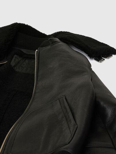 Diesel - L-ARNOLD, Noir - Vestes de cuir - Image 8