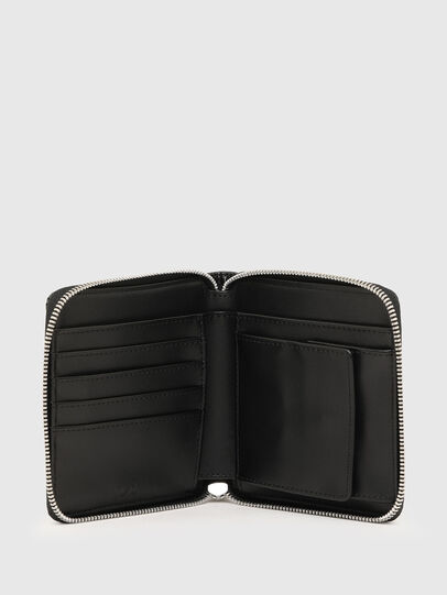 Diesel - PI-ZIP, Black - Zip-Round Wallets - Image 3