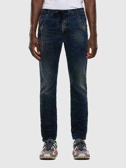 Diesel - Krooley JoggJeans 069NP, Bleu Foncé - Jeans - Image 1