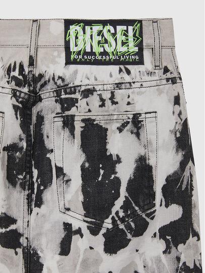 Diesel - DE-ELLYOT-SP, Noir/Blanc - Jupes - Image 4