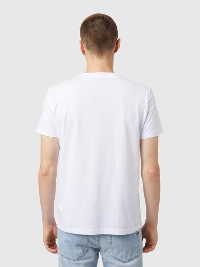 Diesel - T-DIEGOS-B5, Blanc - T-Shirts - Image 2